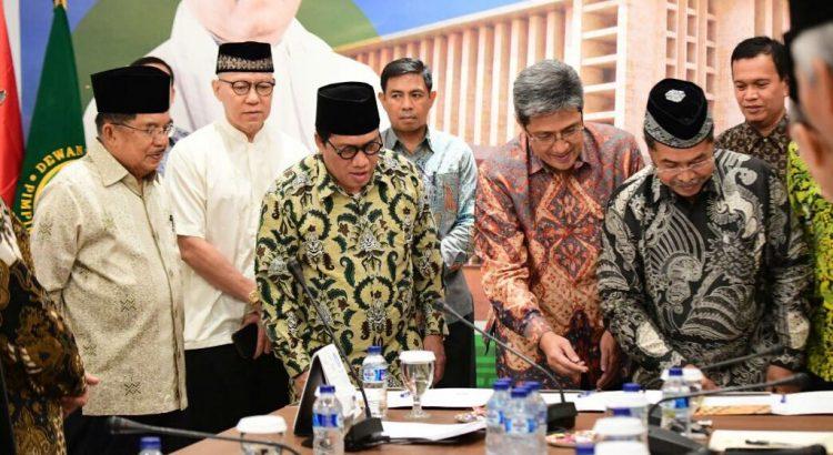 Pengembang Sinar Mas Land, Dewan Masjid Indonesia (DMI) dan Forum Masjid dan Mushola BSD (FMMB) melakukan penandatangan nota kesepahaman kerja sama (MoU – memorandum of understanding) model pengembangan entrepreneurship, kreatifitas dan inovasi umat di Kantor Pusat Dewan Masjid Indonesia (DMI)