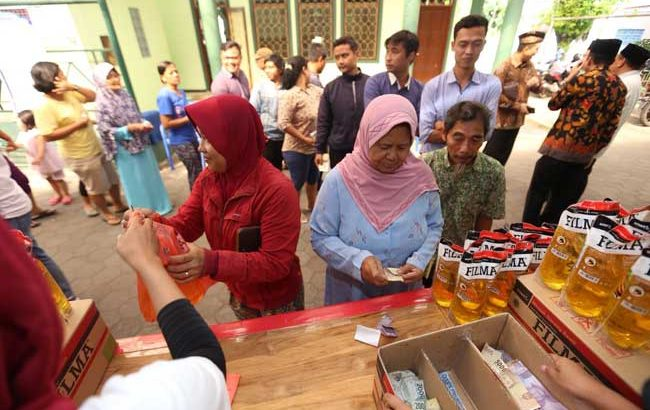 Bazaar Rakyat dan Wakaf Alquran Semarakkan Ramadan di Sleman