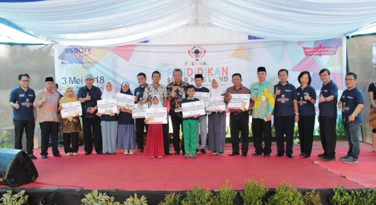 Festival Pendidikan Sinar Mas Land 2018 Unggul lewat Kreativitas, Stop Bullying, dan Sekolah Menyenangkan