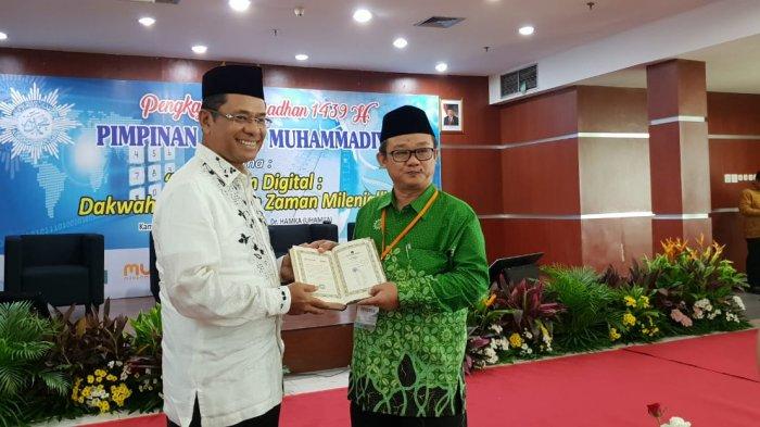 Wakaf 1000 Mushaf Alquran untuk Muhammadiyah