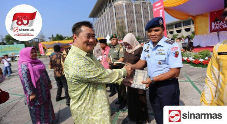 APP Sinar Mas Wakafkan 10.000 Al-Quran ke Penjuru Riau