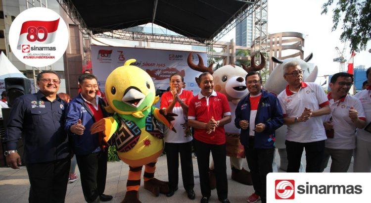 Jangkitkan Demam Asian Games, Sinar Mas Perkuat Dukungan #UntukmuIndonesiaku